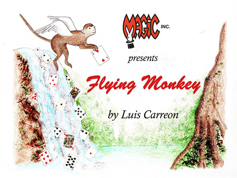 Flying Monkey by Luis Carreon - Trick
