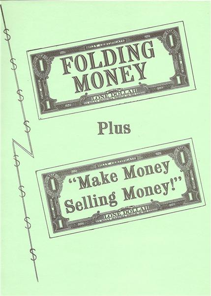 The Folding Money Book by Adolfo Cerceda - Book