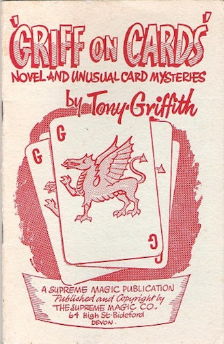 Griff on Cards by Tony Griffith - Book