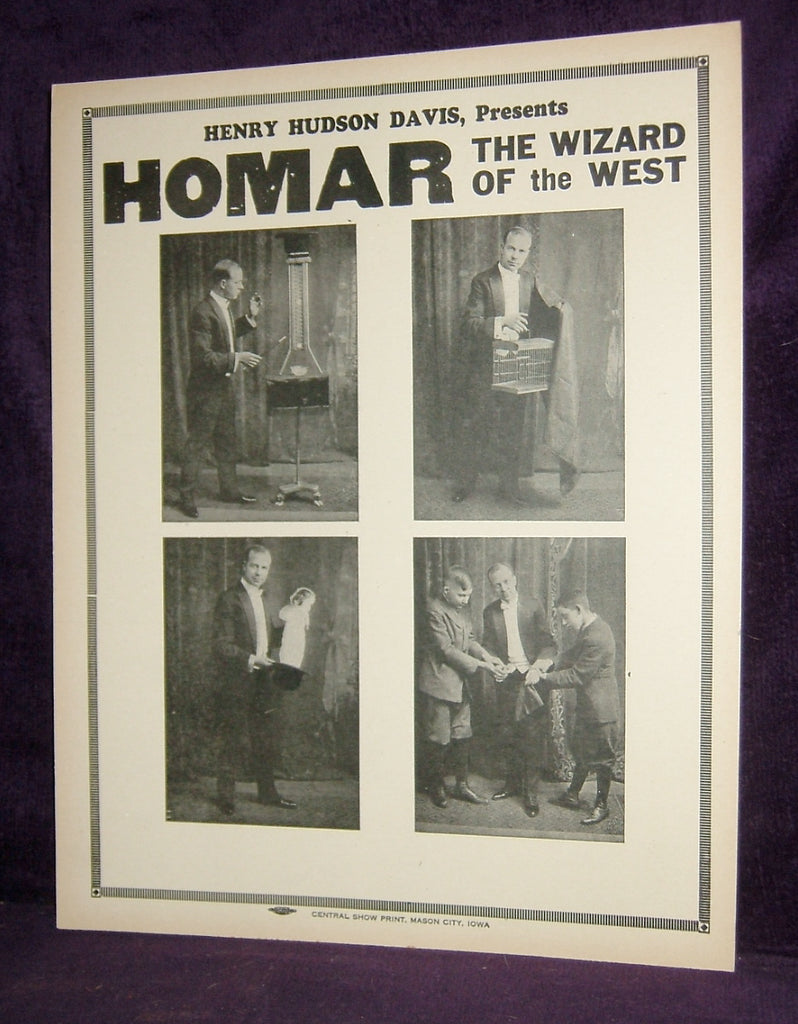 HOMAR - WIZARD OF THE WEST - LOBBYCARD