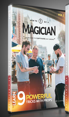 How to Be A Magician Vol. 2 by Ellusionist - Learn 9 Powerful Tricks with Props - DVD