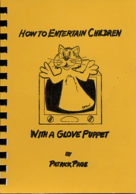 How to Entertain Children With Glove Puppet by Patrick Page - Book