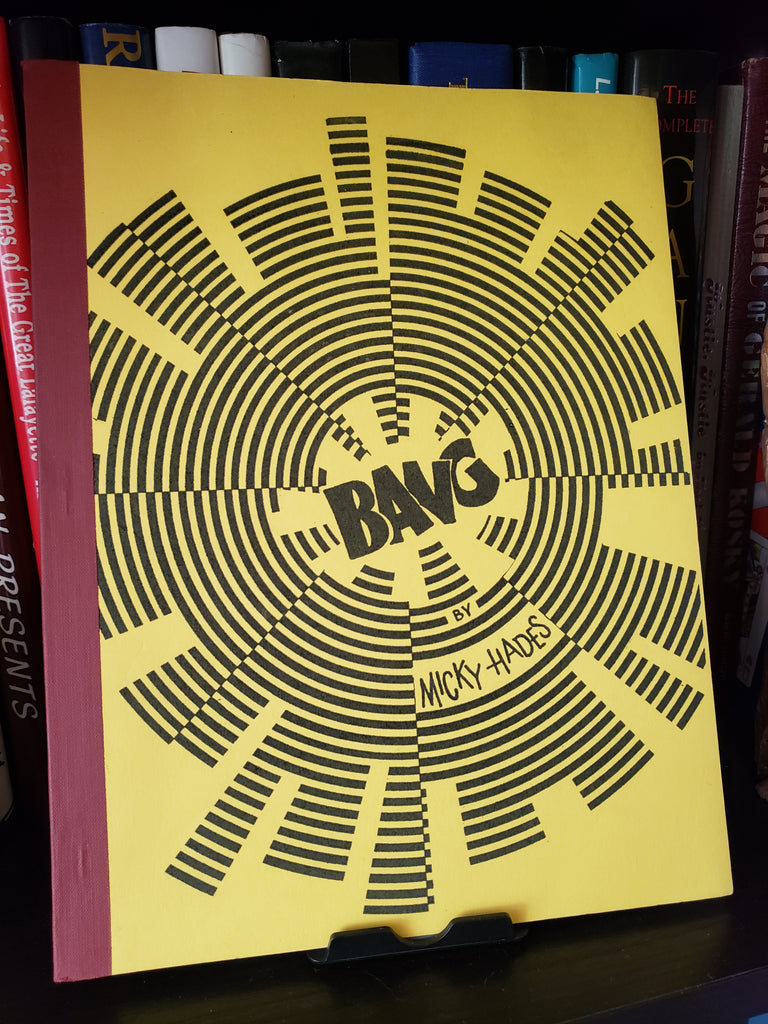Bang by Micky Hades - Book