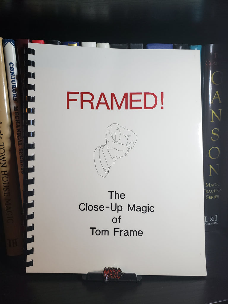 Framed! The Close-Up Magic of Tom Frame - Book