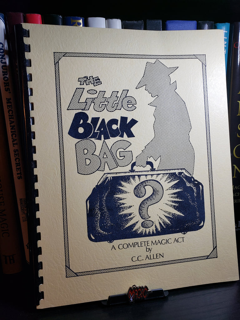 The Little Black Bag by C.C. Allen - Book