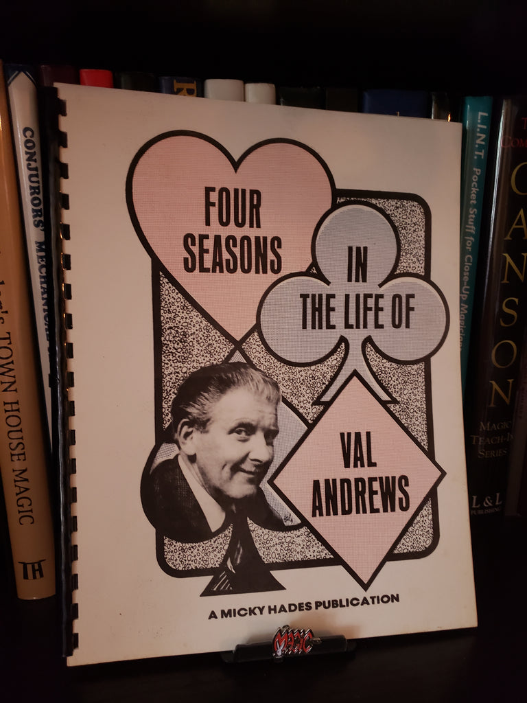 Four Seasons in The Life of Val Andrews -Book