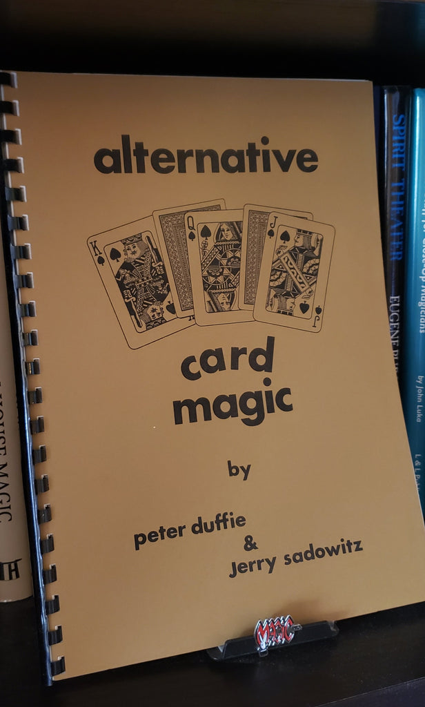 Alternative Card Magic by Peter Duffie and Jerry Sadowitz - Book