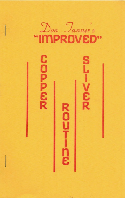 Don Tanner's Improved Copper Silver Routine - Book