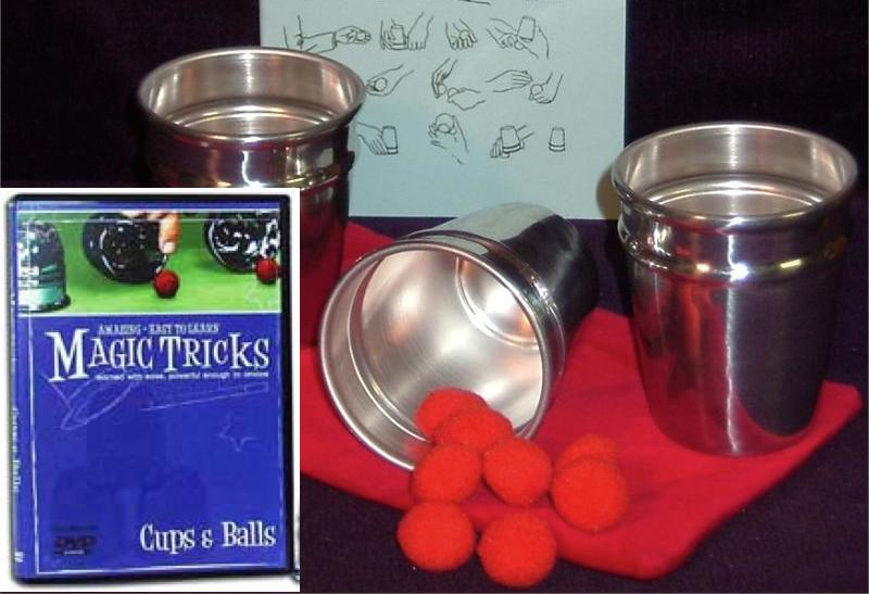 Ireland Cups and Balls Plus DVD Bundle