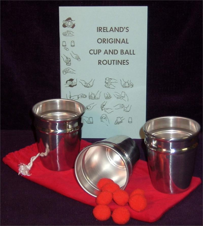 Ireland Cups (Aluminum) with Ireland Routine and 8 Pom Poms