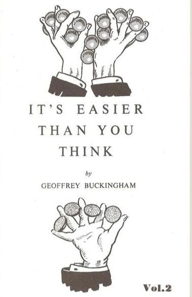 It's Easier Than You Think Series by Geoffrey Buckingham - Book