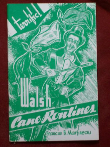 Walsh Cane Routines by Francis B. Martineau - Book