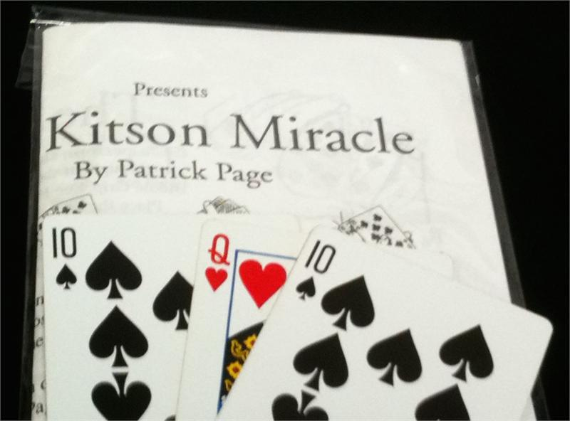 The Kitson Miracle by Patrick Page - Trick