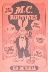 M.C. Routines by Ed Dunhill - Book