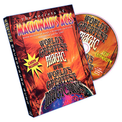 World's Greatest Magic - MacDonald's Aces ** Special Cards Included ** - DVD