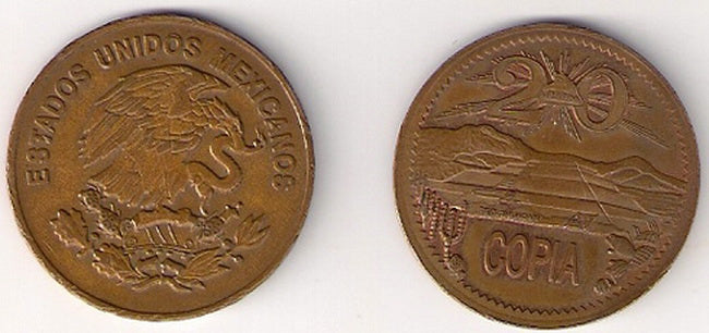 Mexican Centavo (Copia) - Supply