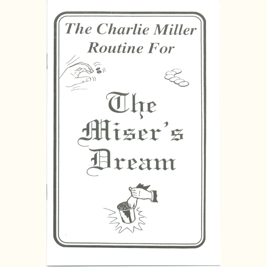 The Miser's Dream by Charlie Miller - Book