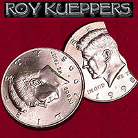 Bite Out Coin - US Half Dollar by Roy Kueppers - Trick