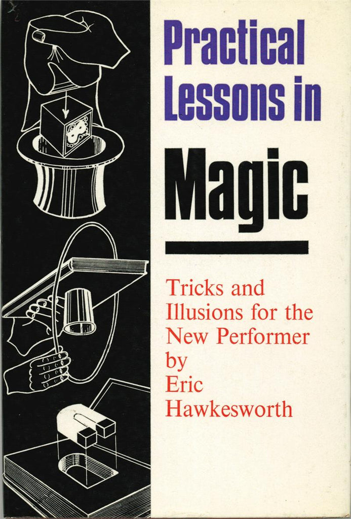 Practical Lessons in Magic by Eric Hawkesworth - Book