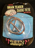 Metal Puzzle - Brain Teasers - Novelty