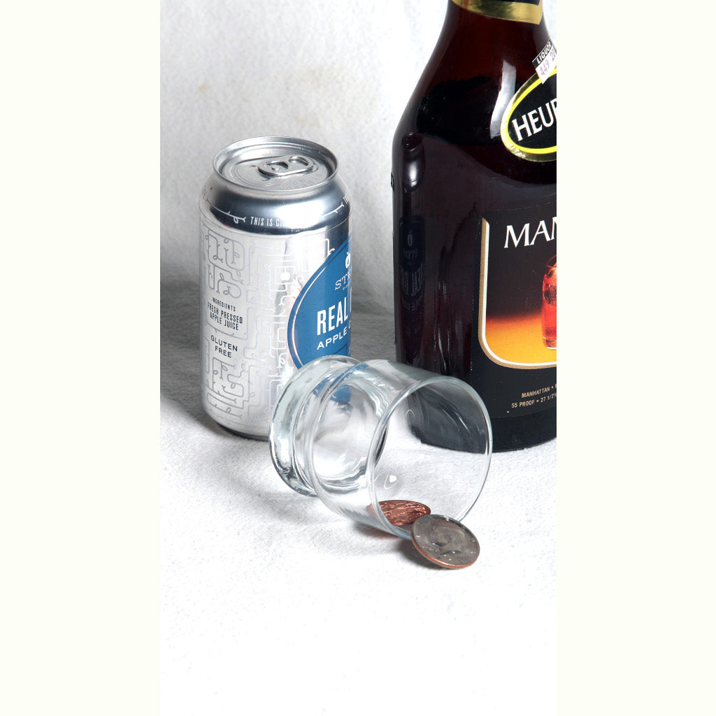 Scotch and Soda Coin Magic Trick - Trick