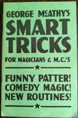 Smart Tricks for Magicians & M.C.'s by George McAthy - Book