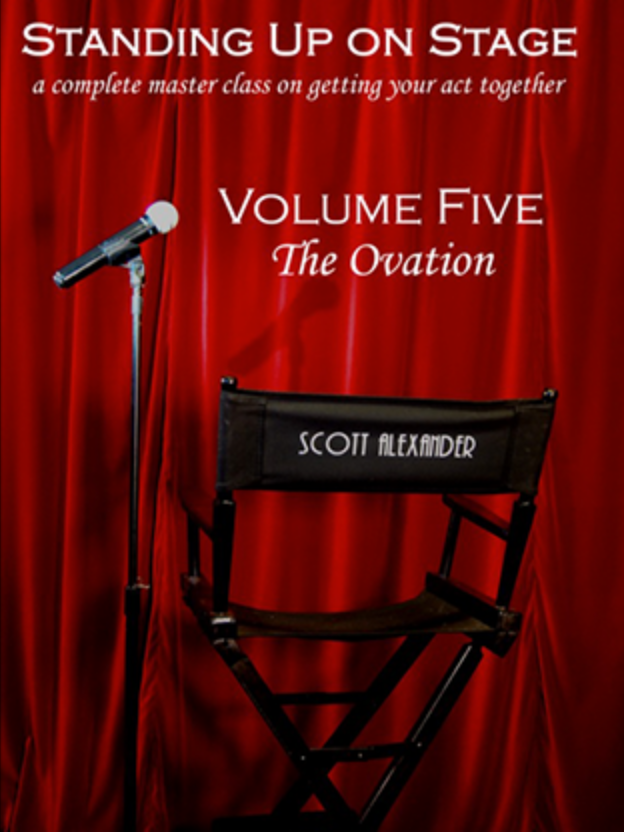 Standing Up on Stage Vol. 5 - The Ovation - DVD