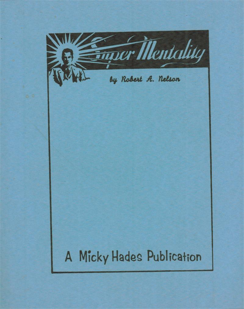 Super Mentality by Robert A. Nelson - Book