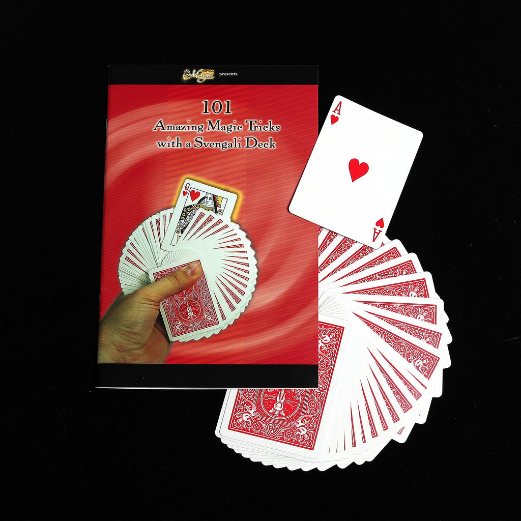 101 Amazing Magic Tricks with a Svengali Deck by Royal Magic - Book