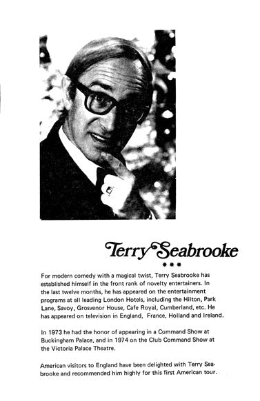 Terry Seabrooke Lecture Notes by Terry Seabrooke - Book