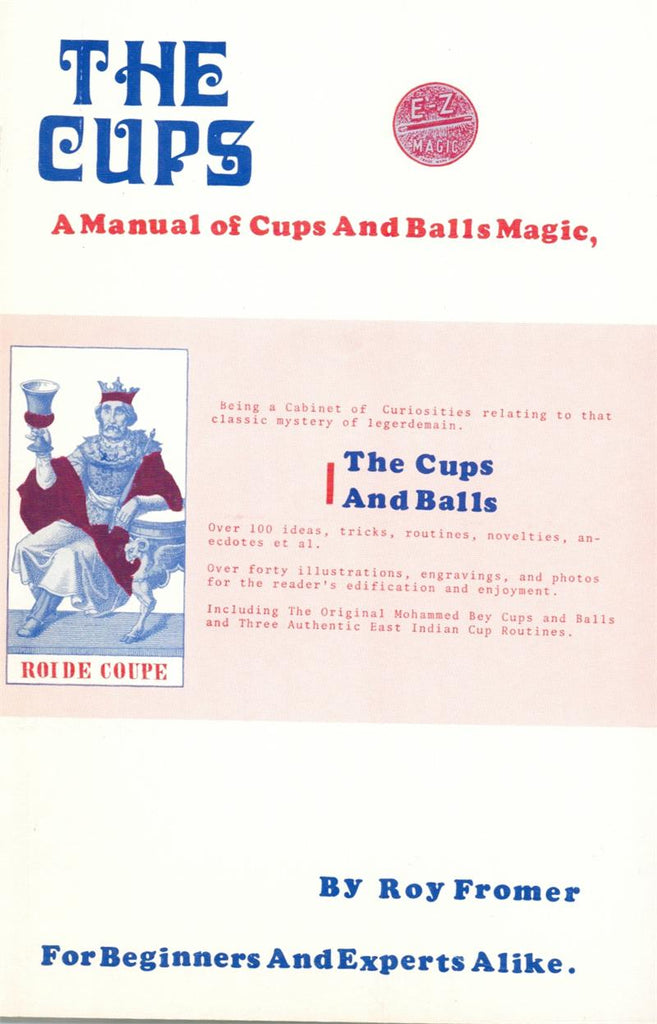 The Cups by Roy Fromer - Book