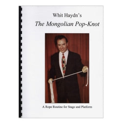 The Mongolian Pop-Knot by Whit Haydn - Book