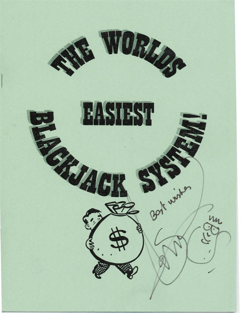 The World's Easiest Blackjack System by Simon Lovell - Book