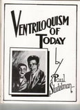 Ventriloquism of Today by Paul Stadelman - Book