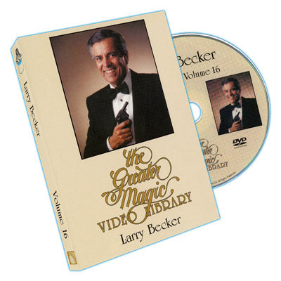 Greater Magic Video Library Vol. 16 - Larry Becker