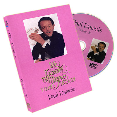 Greater Magic Video Library Vol. 33 - Paul Daniels