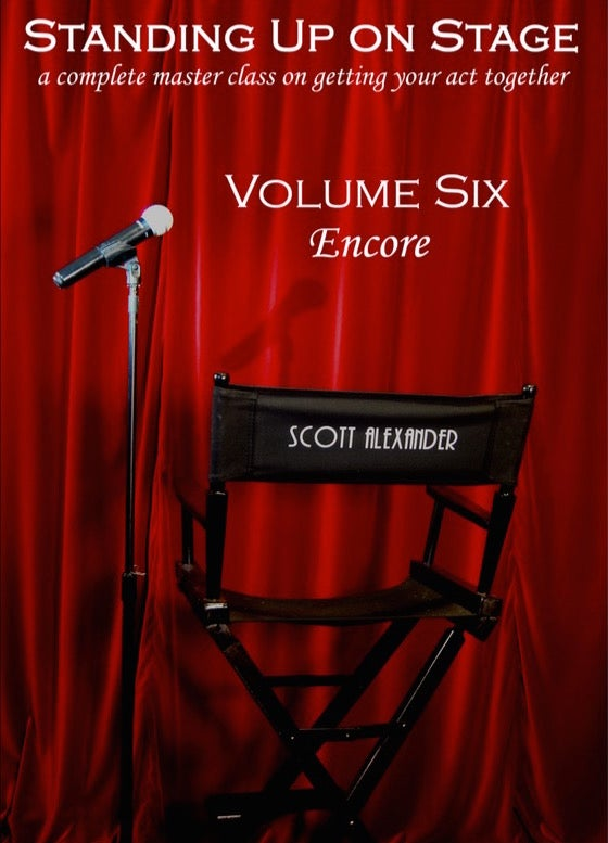 Standing Up on Stage Vol. 6 - Encore - DVD