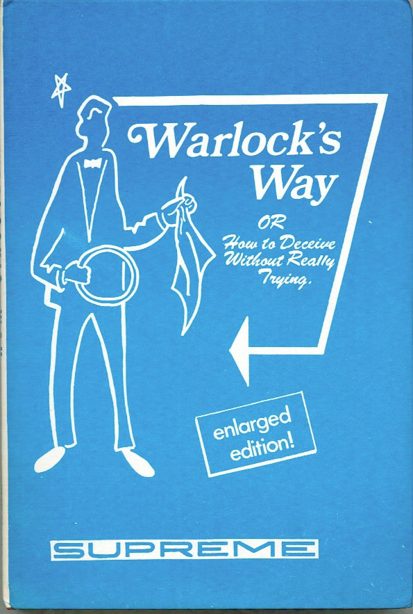 Warlock's Way by Peter Warlock - Book