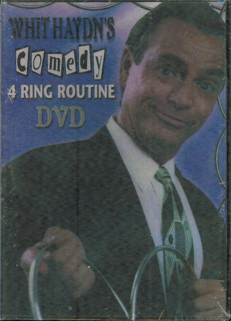 Whit Haydn's Comedy 4 Ring Routine-DVD