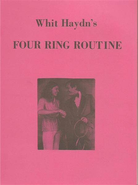 Whit Haydn's Four Ring Routine by Whit Haydn - Book