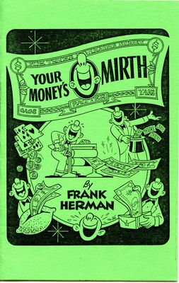 Your Money's Mirth by Frank Herman - Book