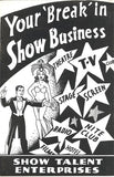 "Your ""Break"" In Show Business by Burling Hull - Book"
