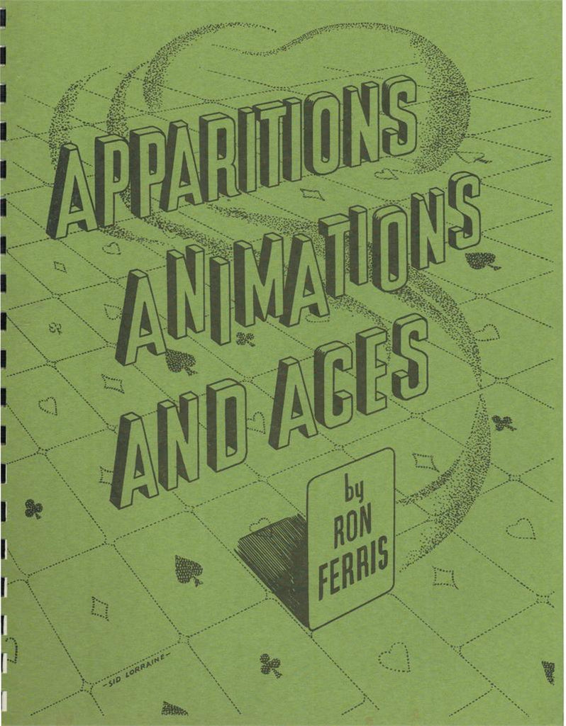 Apparitions Animations and Aces by Ron Ferris - Book