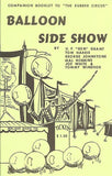 Balloon Side Show - Book