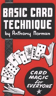 Basic Card Technique by Anthony Norman - Book