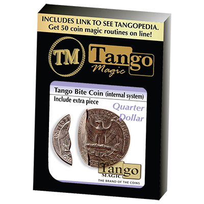 Bite-Out Coin by Tango Magic - Trick