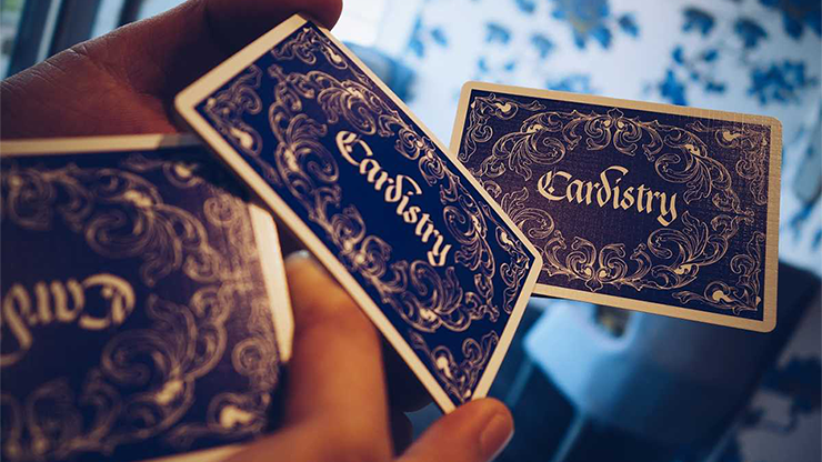 Cardistry Calligraphy  Playing Cards (Red, Blue, X Golden Foil)