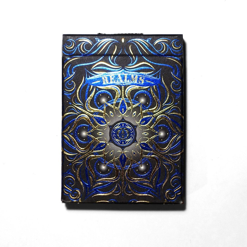 Bicycle Realms (Blue, Red, Black) Playing Cards by USPCC