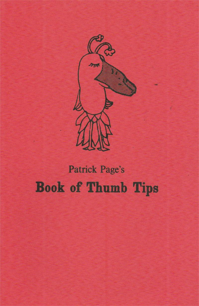 Book of Thumb Tips by Patrick Page - Book
