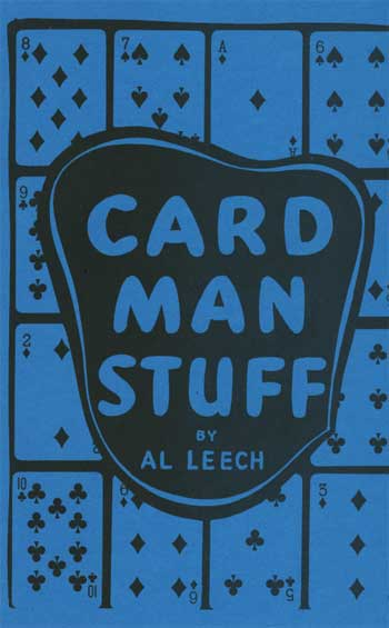 Card Man Stuff by Al Leech - Book